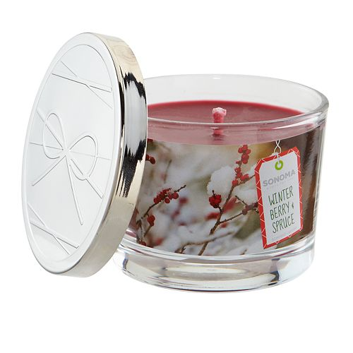 SONOMA Goods for Life™ Winter Berry & Spruce 5-oz. Candle Jar