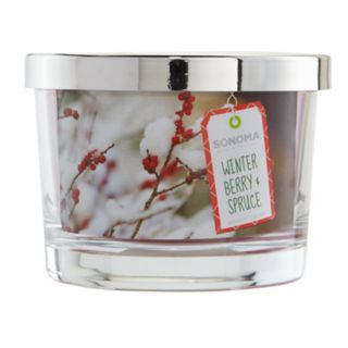 SONOMA Goods for Life? Winter Berry & Spruce 5-oz. Candle Jar