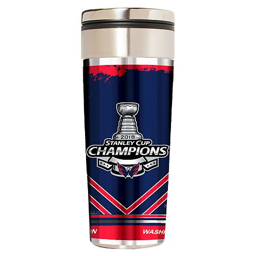 Washington Capitals 2018 Stanley Cup Champions Travel Tumbler