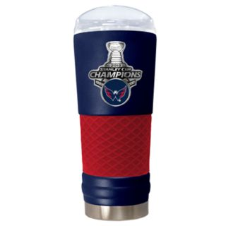 Washington Capitals 2018 Stanley Cup Champions Etched Tumbler