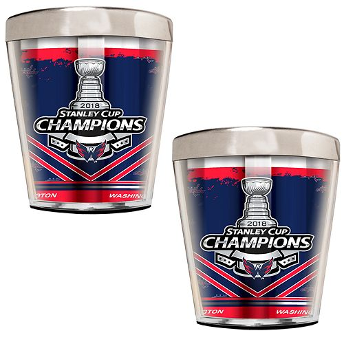 Washington Capitals 2018 Stanley Cup Champions Shot Glass Set