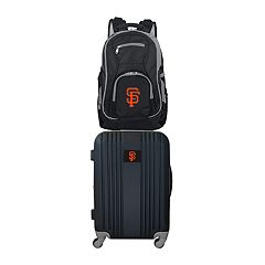 San Francisco Giants Wheeled Carry-On Luggage & Backpack Set