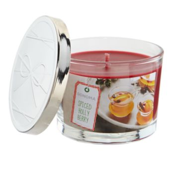 SONOMA Goods for Life? Spiced Holly Berry 5-oz. Candle Jar