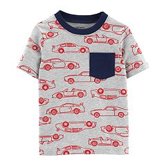 Toddler Boy Carter's Cars Pocket Ringer Tee