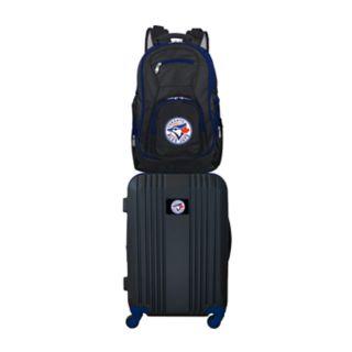 Toronto Blue Jays Wheeled Carry-On Luggage & Backpack Set
