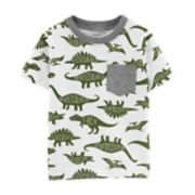 Toddler Boy Carter's Dinosaur Pocket Ringer Tee