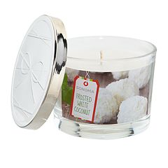 SONOMA Goods for Life™ Frosted White Coconut 5-oz. Candle Jar