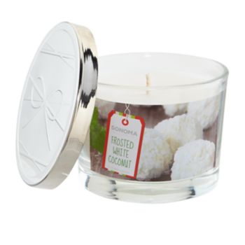 SONOMA Goods for Life? Frosted White Coconut 5-oz. Candle Jar