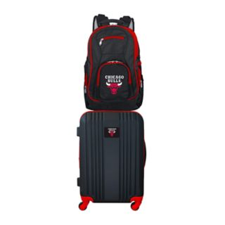 Chicago Bulls Wheeled Carry-On Luggage & Backpack Set