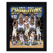 Golden State Warriors 2018 NBA Finals Champions Framed Photo