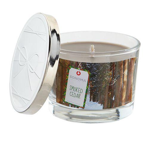 SONOMA Goods for Life™ Smoked Cedar 5-oz. Candle Jar