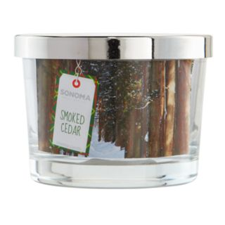 SONOMA Goods for Life? Smoked Cedar 5-oz. Candle Jar