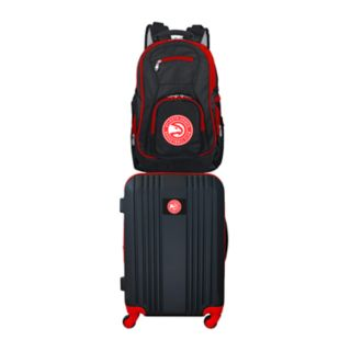 Atlanta Hawks Wheeled Carry-On Luggage & Backpack Set