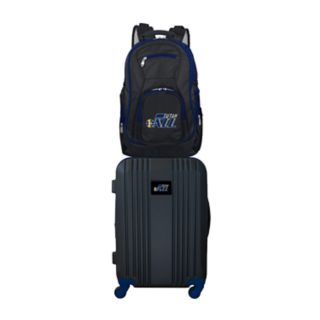 Utah Jazz Wheeled Carry-On Luggage & Backpack Set