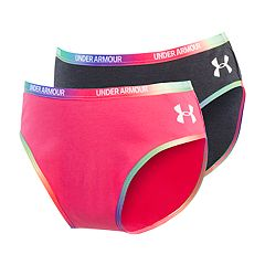 Girls 7-16 Under Armour 2-pack Colorblock Bikini Panties