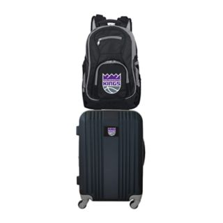 Sacramento Kings Wheeled Carry-On Luggage & Backpack Set