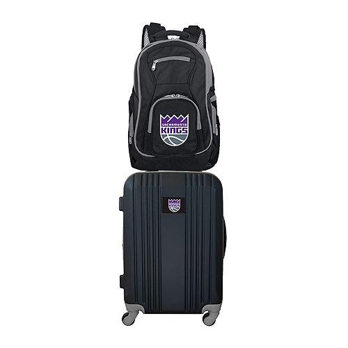 Sacramento Kings Wheeled Carry-On Luggage & Backpack Set