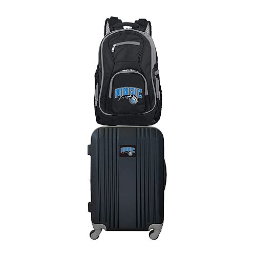 Orlando Magic Wheeled Carry-On Luggage & Backpack Set