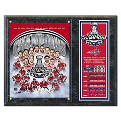 Washington Capitals 2018 Stanley Cup Champions Plaque