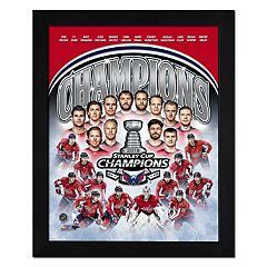 Washington Capitals 2018 Stanley Cup Champions Trophy Framed Photo