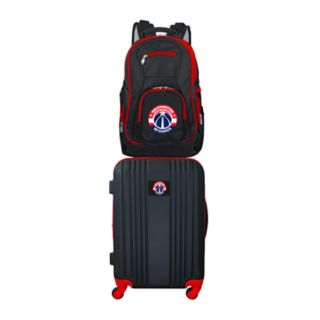 Washington Wizards Wheeled Carry-On Luggage & Backpack Set