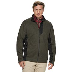 Big & Tall IZOD Shaker Fleece Jacket