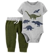Baby Boy Carter's Dinosaur Bodysuit & Pants Set
