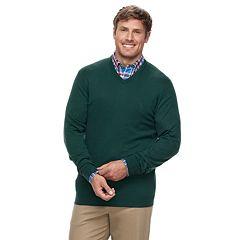 Big & Tall IZOD Premium Essentials Classic-Fit V-Neck Sweater