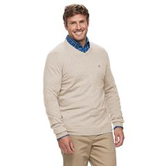 Big & Tall IZOD Premium Essentials Classic-Fit V-Neck Sweater