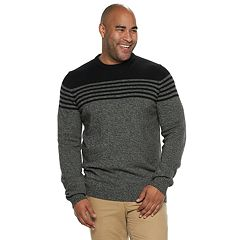 Big & Tall IZOD Newport Striped Sweater