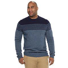Big & Tall IZOD Newport Striped Sweater