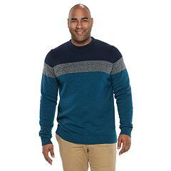 Big & Tall IZOD Colorblock Sweater