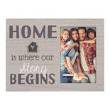 """Malden """"Home Story Begins"""" 4"""" x 6"""" Frame"""