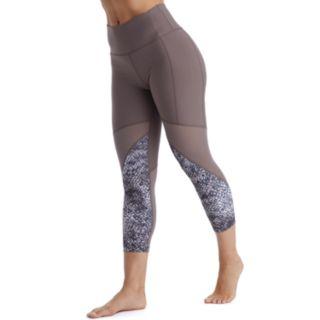 Women's Marika Ava Mesh High-Waisted Capri Leggings