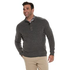 Big & Tall IZOD Classic-Fit Mockneck Sweater