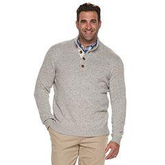 Big & Tall IZOD Classic-Fit Mockneck Sweater