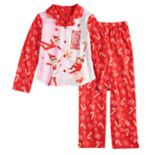 Girls 4-10 The Elf on the Shelf® Top & Bottoms Pajama Set