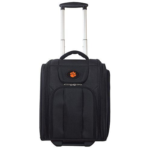 Clemson Tigers Wheeled Briefcase Luggage