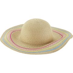Toddler Girl Carter's Straw Beach Hat