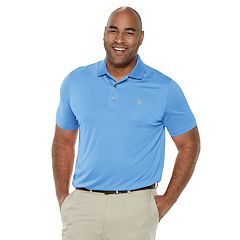 Big & Tall IZOD Golf Champion Grid Polo