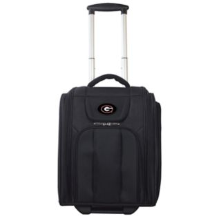 Georgia Bulldogs Wheeled Briefcase Luggage