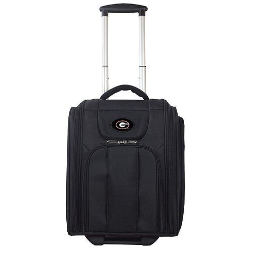Georgia Bulldogs Wheeled Briefcase Luggage