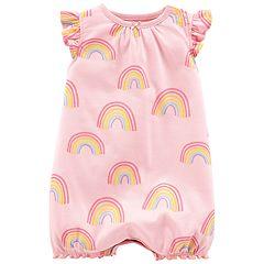 Baby Girl Carter's Rainbow Romper
