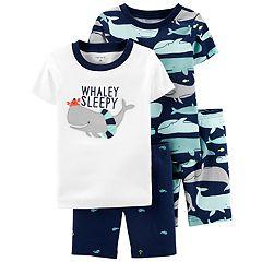 Toddler Boy Carter's 'Whaley Sleepy' Tops & Bottoms Pajama Set