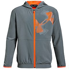 3b50d41c9 Boys 8-20 Under Armour Jersey Lined Woven Jacket
