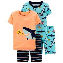 Toddler Boy Carter's Shark & Pizza Tops & Bottoms Pajama Set