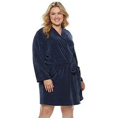 Plus Size SONOMA Goods for Life™ Chenille Wrap Robe