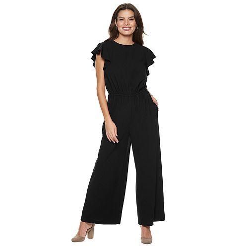 Women's Apt. 9® Ruffle Jumpsuit