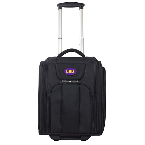 LSU Tigers Wheeled Briefcase Luggage