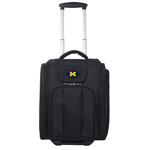 Michigan Wolverines Wheeled Briefcase Luggage